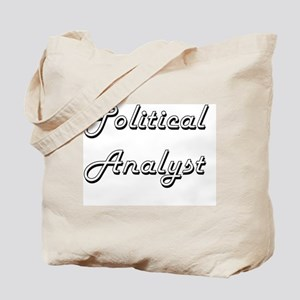 Political Analyst Classic Job Design Tote Bag