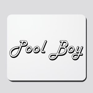 Pool Boy Classic Job Design Mousepad