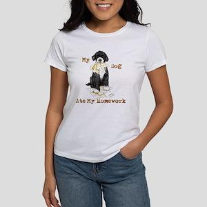 PWD Ate Homework Women's T-Shirt