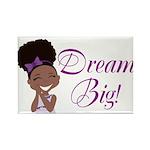 Dream Big Rectangle Magnets