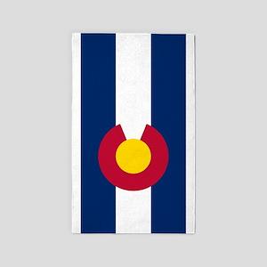 Colorado Flag Area Rug