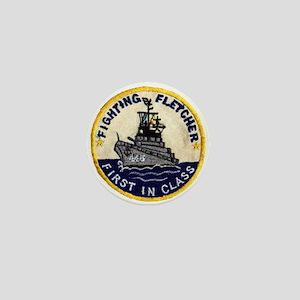 USS FLETCHER Mini Button