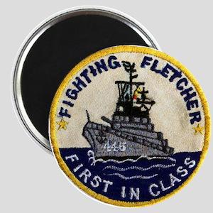 USS FLETCHER Magnet