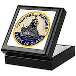 USS FLETCHER Keepsake Box