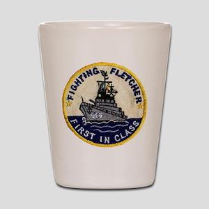 USS FLETCHER Shot Glass