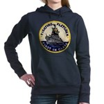 USS FLETCHER Women's Hooded Sweatshirt