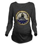 USS FLETCHER Long Sleeve Maternity T-Shirt