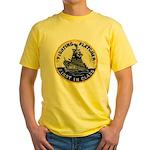 USS FLETCHER Yellow T-Shirt