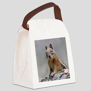Ground Squirrel Canvas Lunch Bag