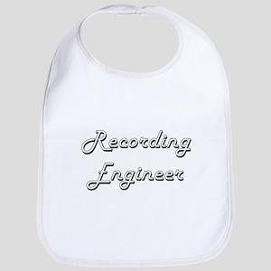 Recording Engineer Classic Job Design Bib