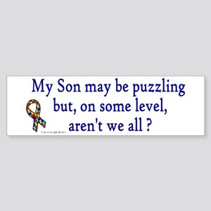 Puzzling (Son) Bumper Sticker