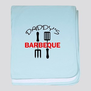 DADDYS BARBEQUE baby blanket