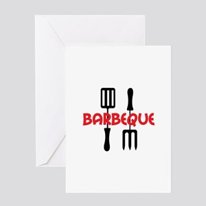 BARBEQUE Greeting Cards