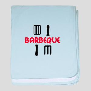 BARBEQUE baby blanket