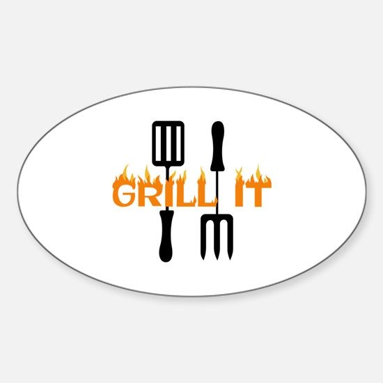 GRILL IT Decal