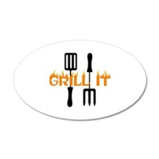 GRILL IT Wall Decal