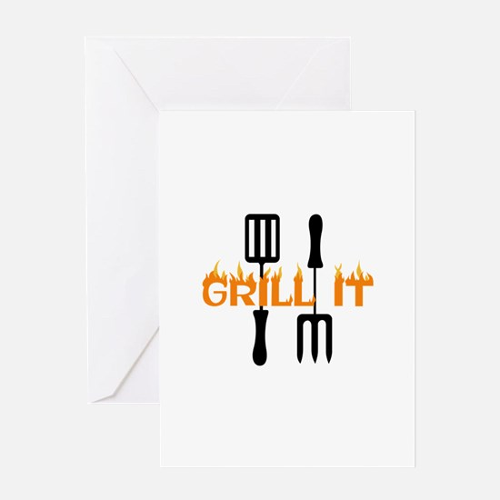 GRILL IT Greeting Cards
