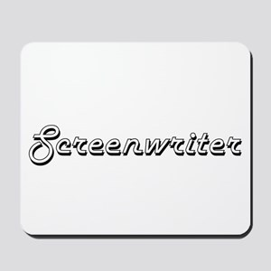 Screenwriter Classic Job Design Mousepad