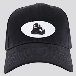 Thoughtful Monkey  Black Cap