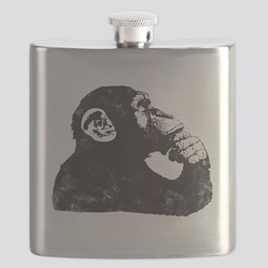 Thoughtful Monkey  Flask