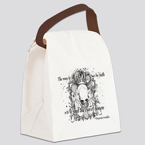 The Way to See by Faith Canvas Lunch Bag