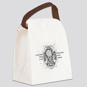 The Way to See by Faith - White Canvas Lunch Bag