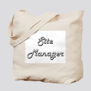 Site Manager Classic Job Design Tote Bag