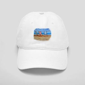 Beach Chairs Baseball Cap