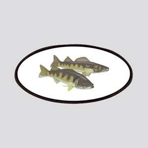 WALLEYE FISH Patch
