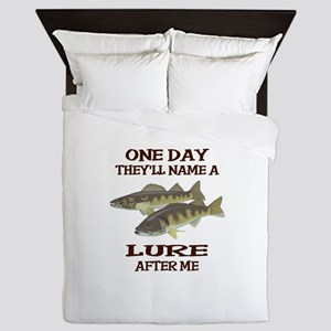 NAME A LURE AFTER ME Queen Duvet
