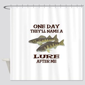 NAME A LURE AFTER ME Shower Curtain