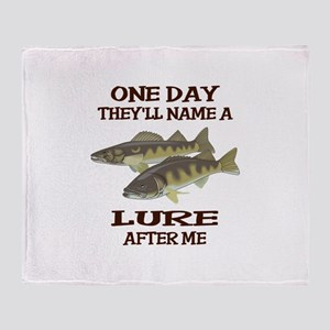NAME A LURE AFTER ME Throw Blanket