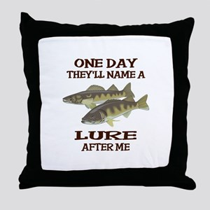 NAME A LURE AFTER ME Throw Pillow