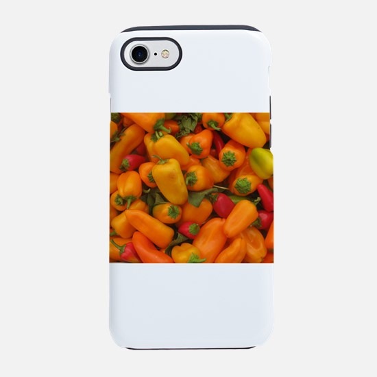 hot,hot,hot peppers iPhone 7 Tough Case