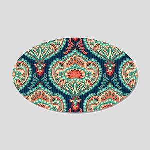 Ornate Paisley Pattern Wall Decal