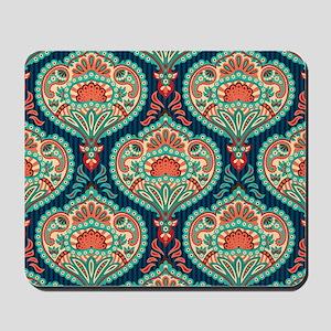 Ornate Paisley Pattern Mousepad