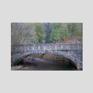 Scenic Bridge Rectangle Magnet