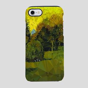 Van Gogh Poet's Garden Low Poly iPhone 7 Tough Cas