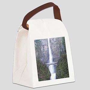 Multnomah Falls Canvas Lunch Bag