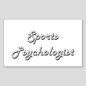 Sports Psychologist Classic Job Design Sticker