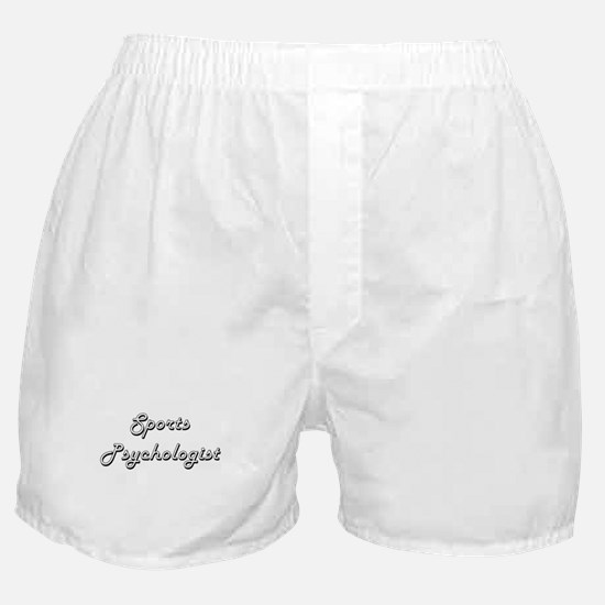Sports Psychologist Classic Job Desig Boxer Shorts