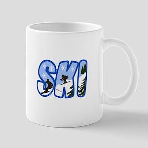 SKI MONTAGE Mugs