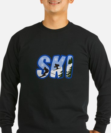 SKI MONTAGE Long Sleeve T-Shirt