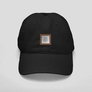Typical Trellis Black Cap