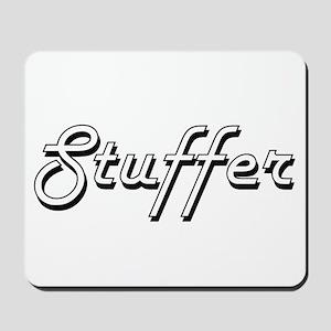 Stuffer Classic Job Design Mousepad