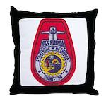 USS FLORIDA Throw Pillow