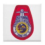 USS FLORIDA Tile Coaster