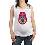 USS FLORIDA Maternity Tank Top