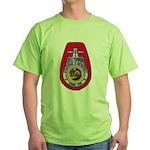 USS FLORIDA Green T-Shirt