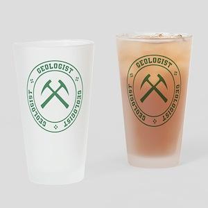 Geologist Drinking Glass